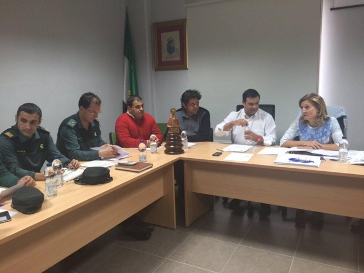 Comisión Técnica de la marcha ecuestre a Guadalupe (Cáceres)