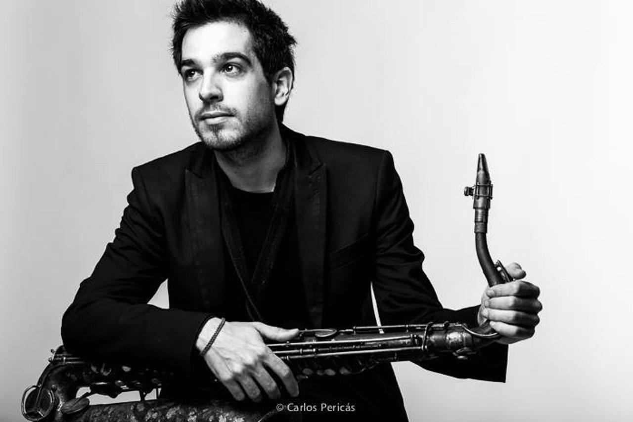 El saxofonista Gabriel Amargant