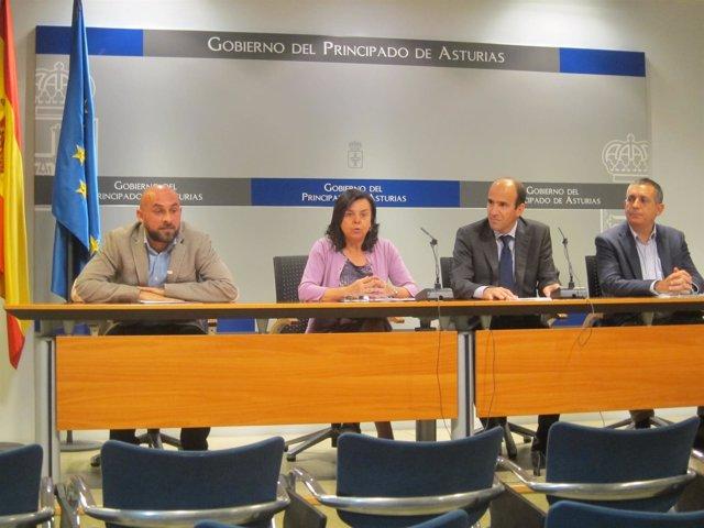 Presentación de la incorporación de Intu Asturias al patronato de Fundación Oso