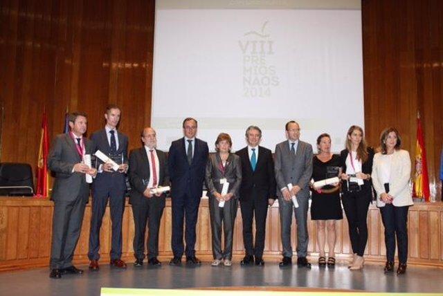 Entrega premios Estrategia NAOS 2014
