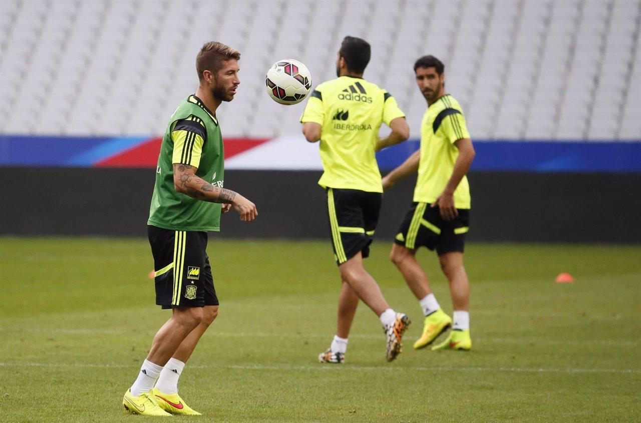 Sergio Ramos selección española