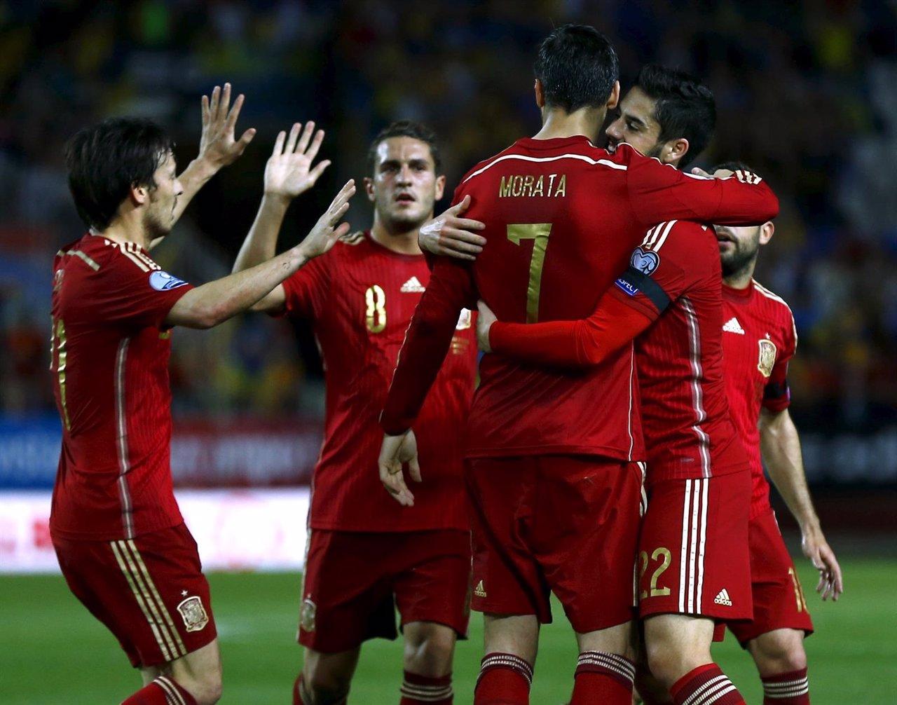 España: selección española de fútbol