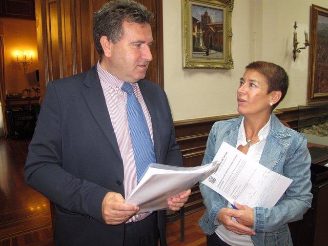 José Luis Torán y Rocío Féliz de Vargas