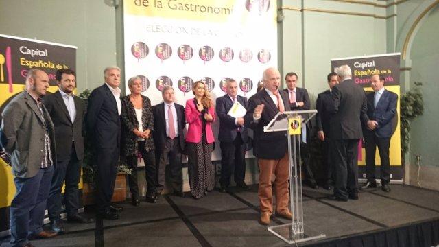 Elección de la Capital Española de la Gastronomía 2016