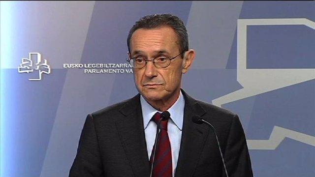 Angel Toña, consejero de Empleo del Gobierno vasco