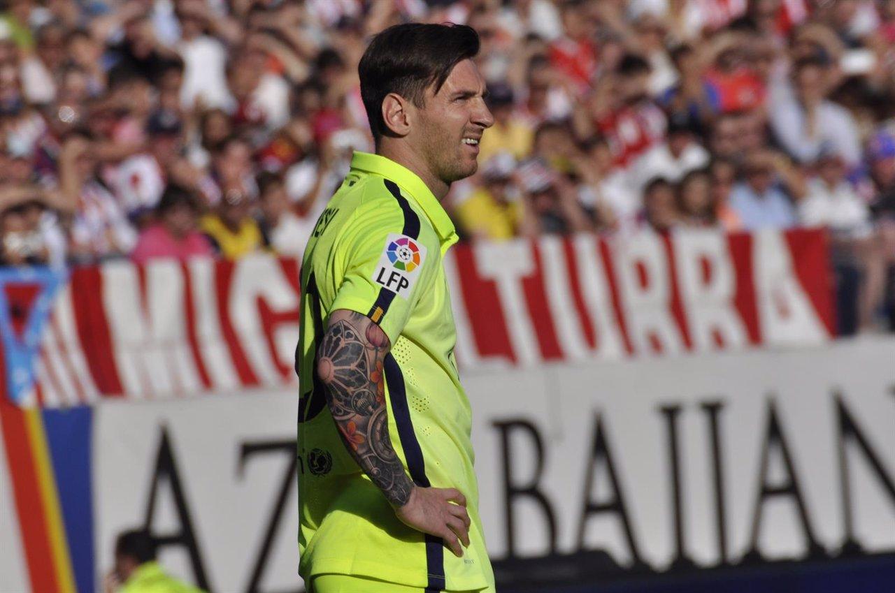 Lionel Andrés Messi, Atlético de Madrid-F.C.Barcelona