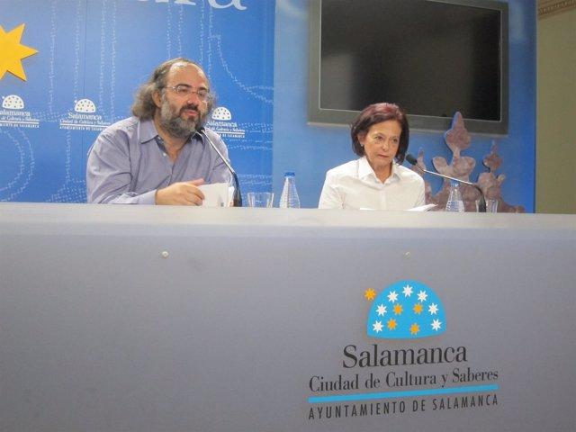 El poeta Alfredo Pérez Alencart y Blanca Ruiz Barrionuevo presentan la antología