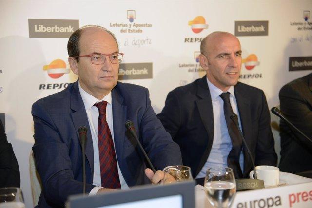 José Castro y Monchi en los Desayunos Deportivos de Europa Press