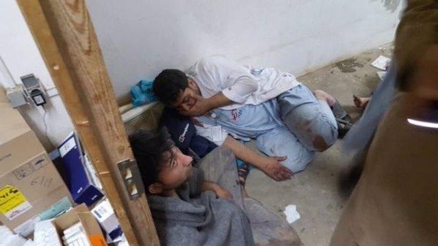 Heridos en el hospital de MSF en Kunduz que ha sido atacado