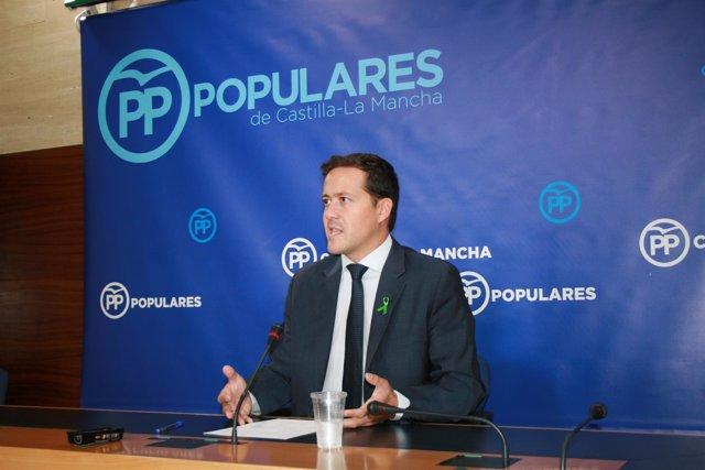 GPP CLM (Cortes De Voz Y Fotograía) El Portavoz Adjunto, Carlos Velázquez, En Ru