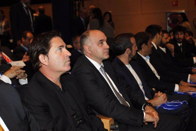 Xavi Pascual (FC Barcelona) y Pablo Laso (Real Madrid)