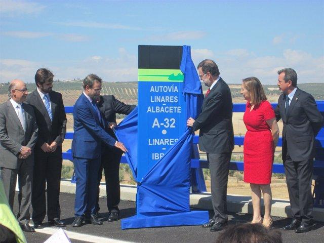 Inauguración del tramo Linares-Ibros de la A-32
