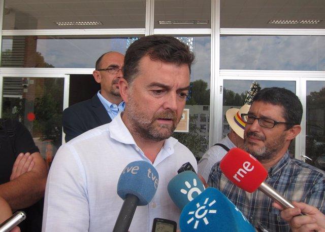 Antonio Maíllo en Málaga