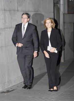 Infanta Cristina y Carlos García Revenga