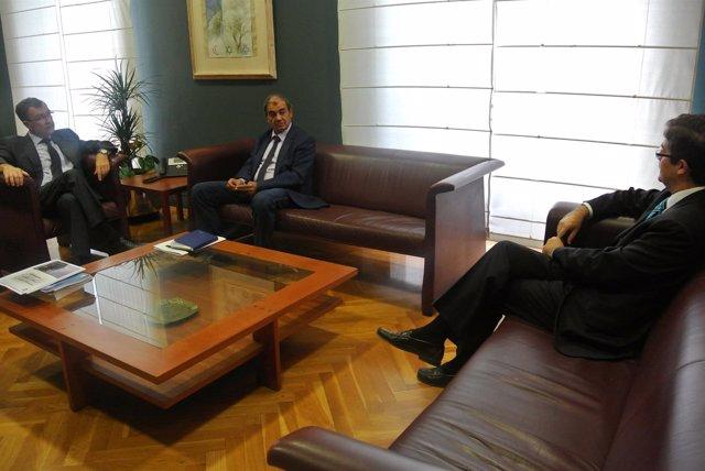Reunión con el presidente de Ucomur