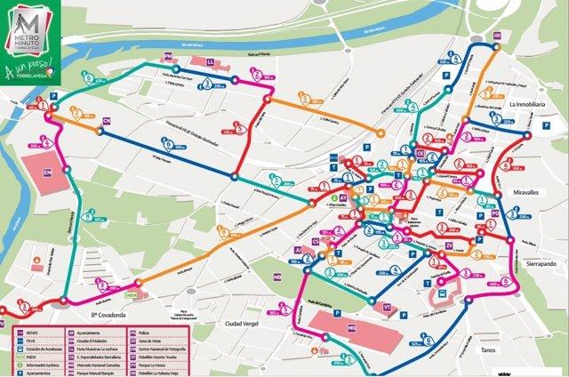 Plano 'Metro minuto'