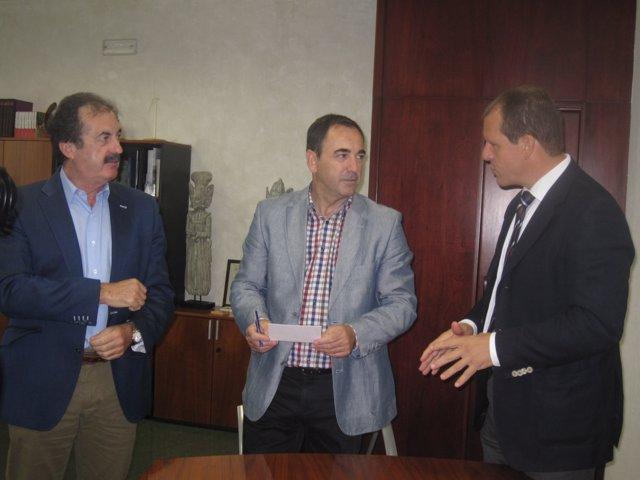 Reunión de la Junta con la Asociación de Constructores