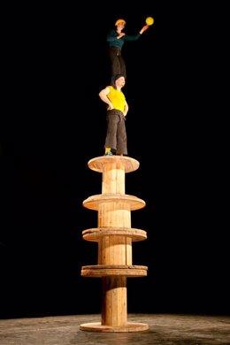 Espectáculo 'Equilibuá'