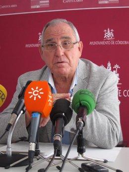 El portavoz municipal de Ciiudadanos, José Luis Vilches