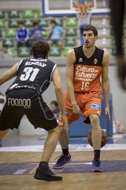 Valencia Basket - Dominion Bilbao Basket, Guillem Vives