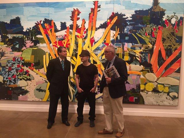El Palacio Almudí se viste de color con la exposición de Manuel Pérez