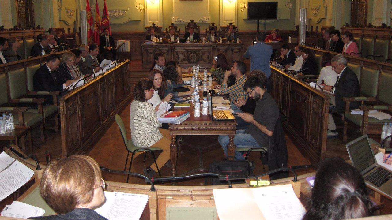 Pleno Municipal del Ayuntamiento de Valladolid