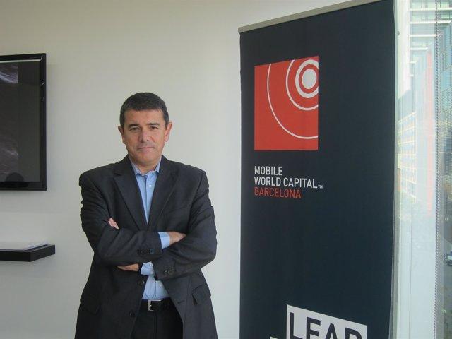 El vicepresidente ejecutivo de la Mobile World Capital Barcelona, Agustí Cordón