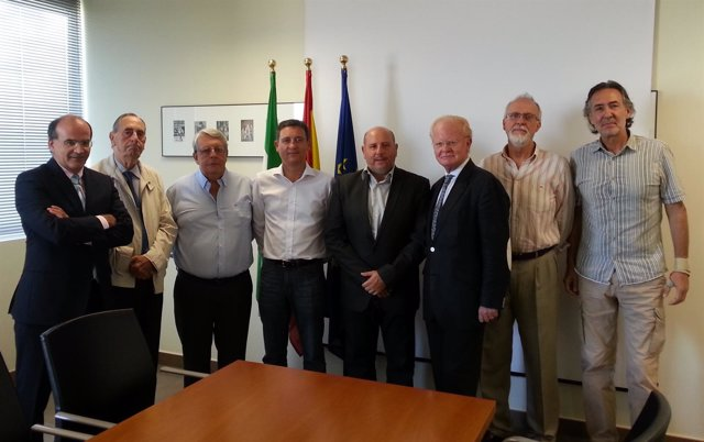 Reunión de Eduardo Tamarit con la Fundación Atarazanas