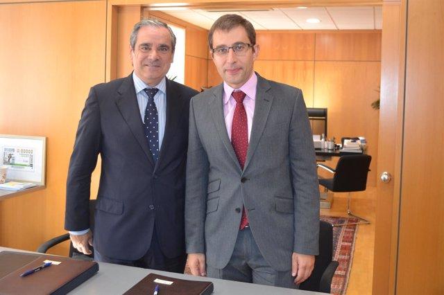 Enrique Gómez Bastida y Jesús Aguilar Santamaría