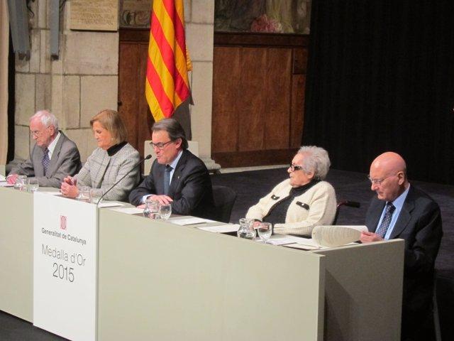 Entrega de las Medalles d'Or de la Generalitat