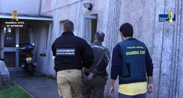 Detención de Ahmed Chehl, presunto asesino de Eva Blanco