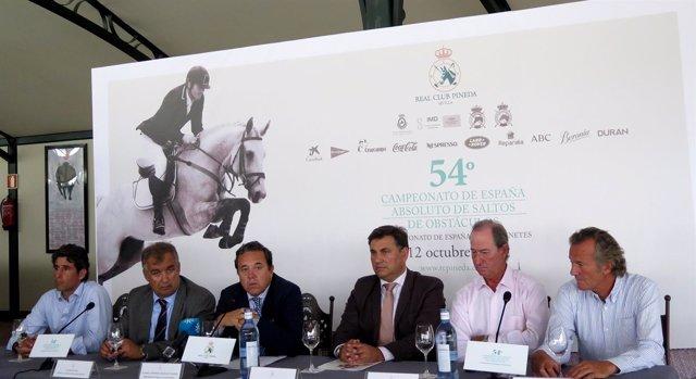El Real Club Pineda Acogerá La LIV Edición Del Campeonato De España De Hípica