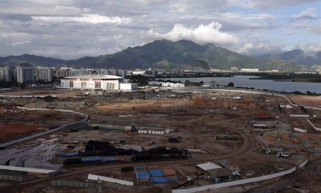 Obras para los JJOO de Río en 2016