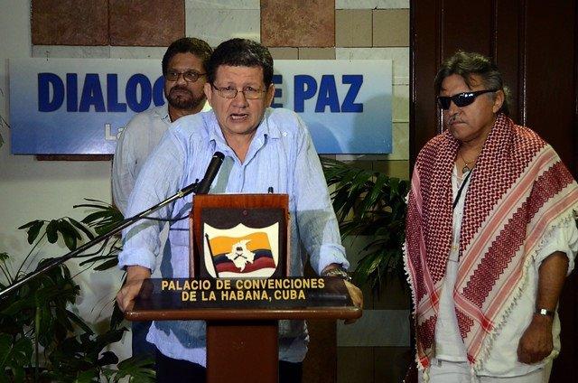 Diálogos de paz en La Haban. Colombia y las FARC