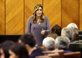 Susana Díaz anuncia convocatoria de ayudas a la formación en 2016
