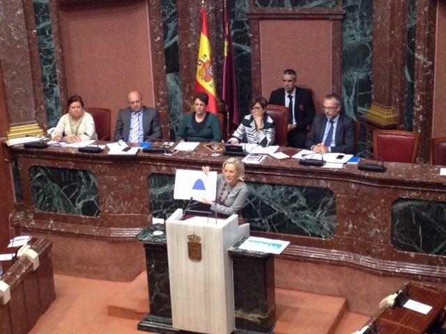 La consejera de Agricultura, Agua y Medio Ambiente, Adela Martínez-Cachá