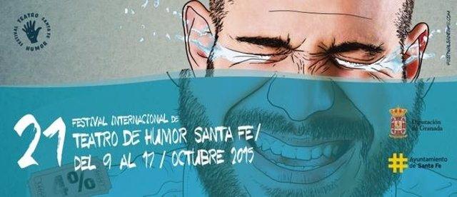 Cartel de la nueva edición del festival de humor en Santa Fe.