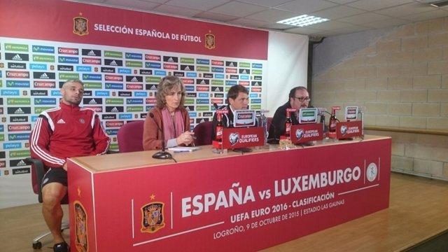 Rueda de prensa del entrenador de la selección de Luxemburgo, Luc Holtz