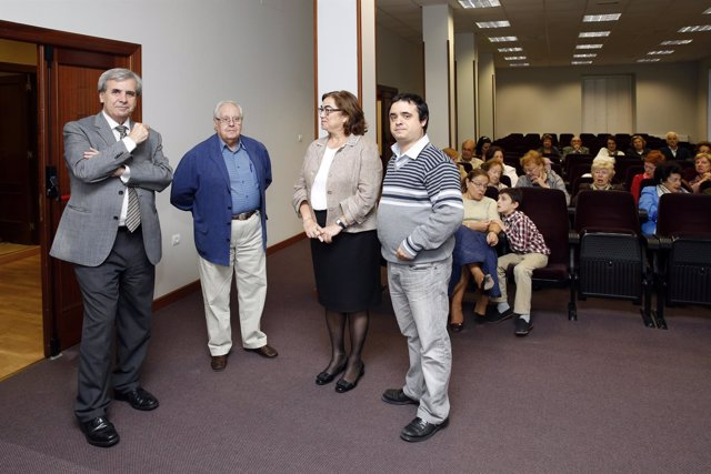 Acto organizado por la casa regional de la Comunidad Valenciana