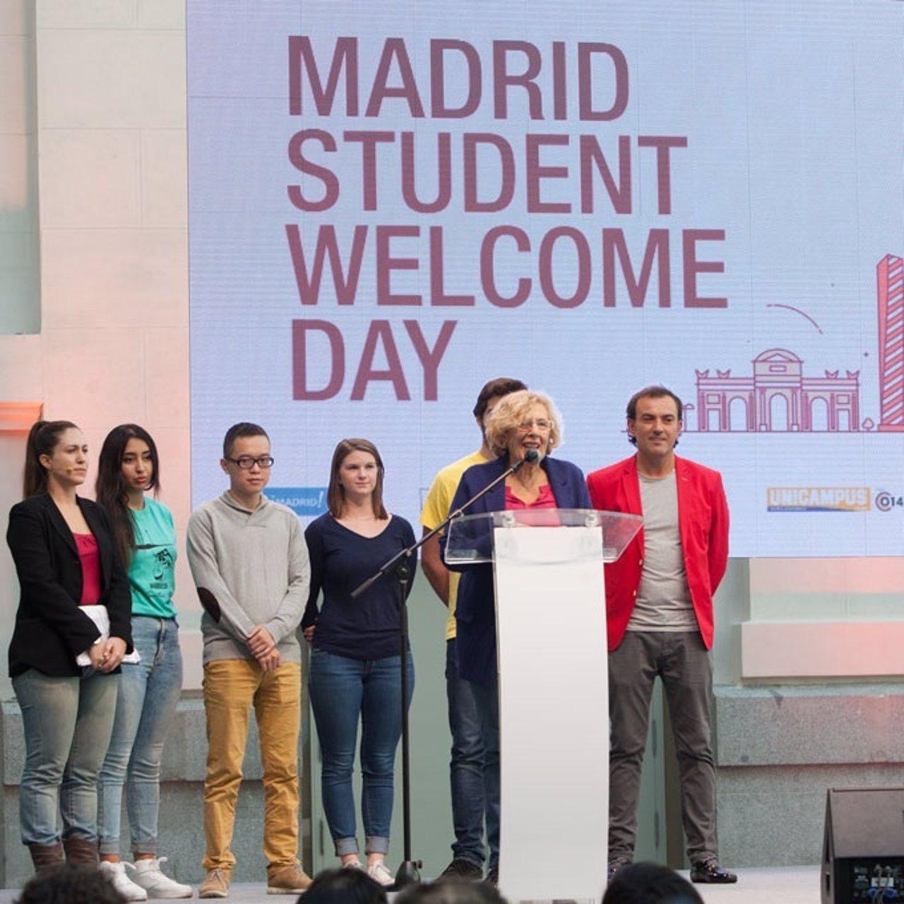Manuela Carmena durante su intervención