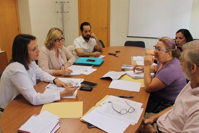 Reunión de la comisión para el Concejal 28 de Huelva