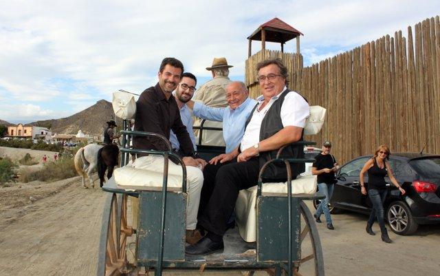 Rodolfo Sancho en el Almería Western Film Festival