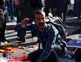 El Gobierno turco confirma 95 muertos en el atentado de Ankara