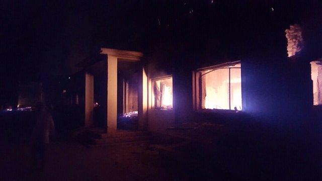 Ataque de EEUU sobre un hospital en Kunduz