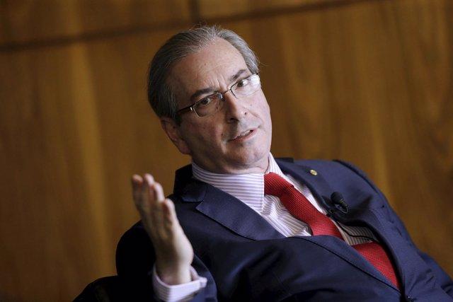 El presidente de la Cámara de los Diputados, Eduardo Cunha