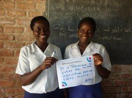 Una 'Menstravaganza' tiene lugar en Malaui
