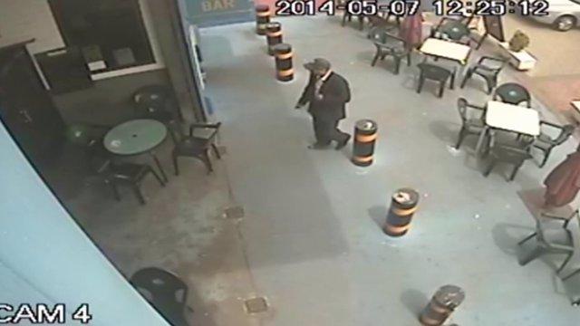 Vídeo difundido por la Guardia Civil de un posible implicado en la desaparición