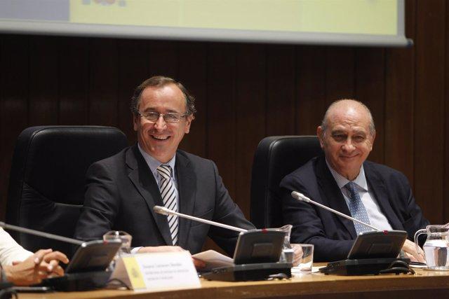 Alfonso Alonso y Jorge Fernández Díaz