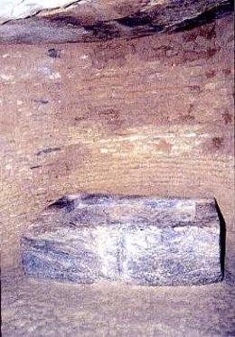Cámara del dolmen de Matarrubilla.