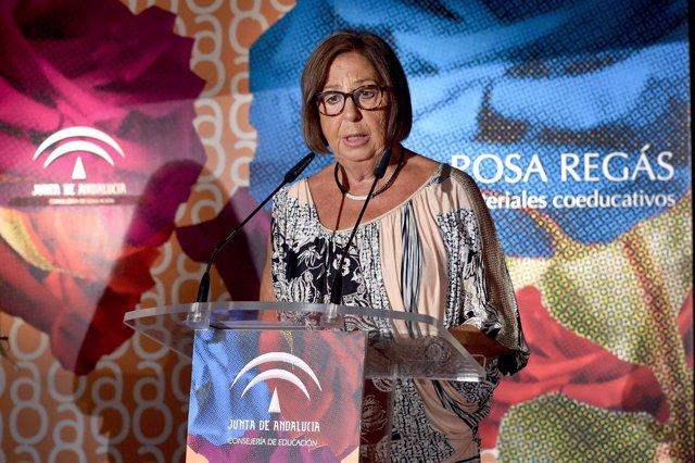 La consejera andaluza de Educación, Adelaida de la Calle